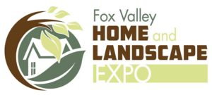 Logo for the Fox Valley Home and Landscape Expo at the Tri-County Ice Arena in Neenah, WI