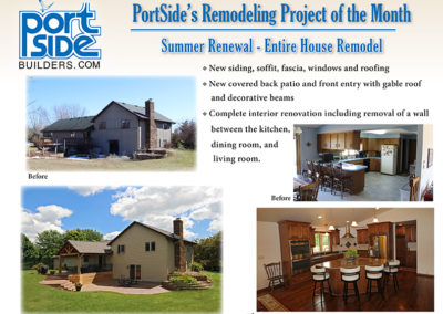 plan of the month, home plans, home ideas, Home Remodeling, Fox Valley, Neenah, Menasha, Appleton, Greenville, Wisconsin