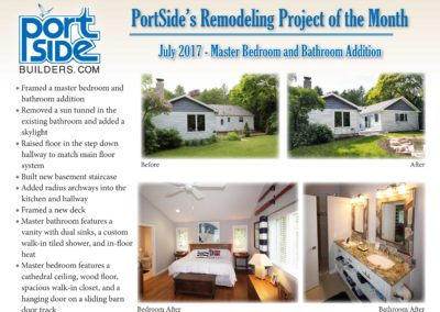 PortSide Builders Remodeling Project of the Month