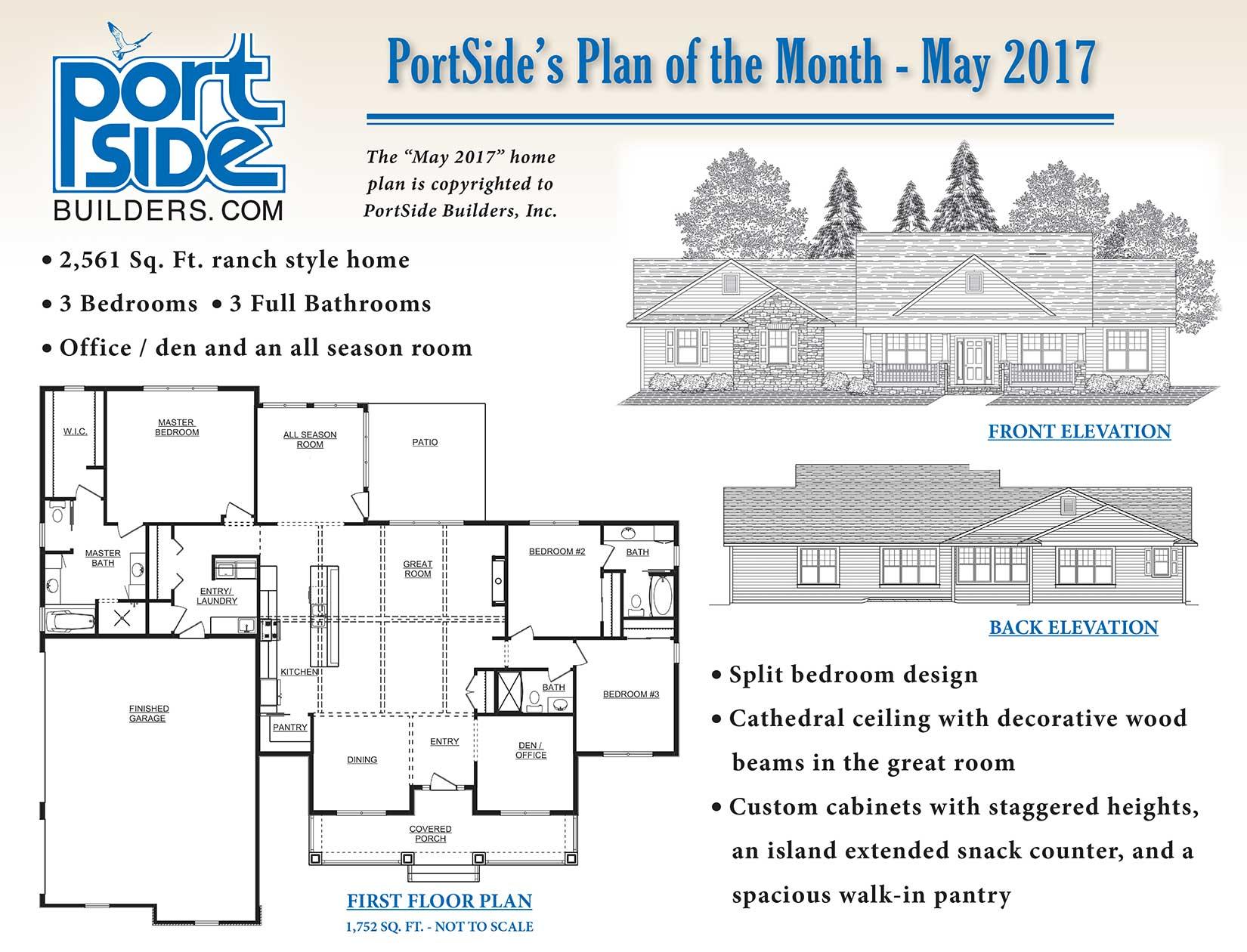 PortSide Builders in Neenah, Wisconsin Home Plan