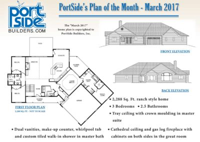PortSide Builders Home Plan