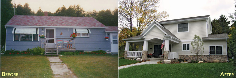 Extremodel7 before and after portside builders for Bath remodel green bay wi