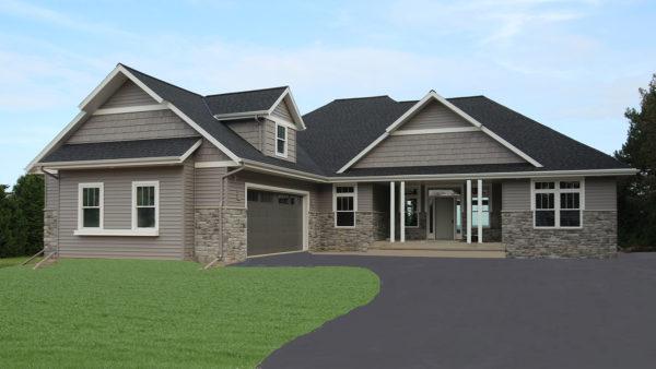 New Ranch Home Algoma, WI