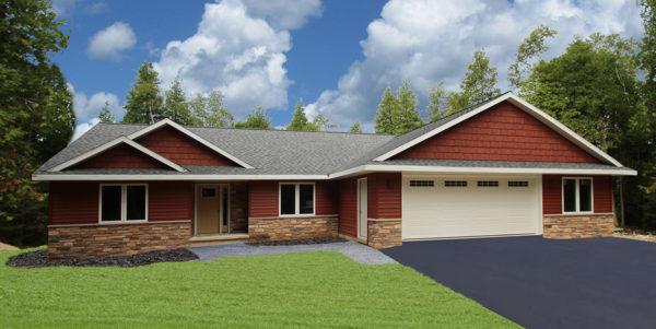 New Ranch Home Door County, WI