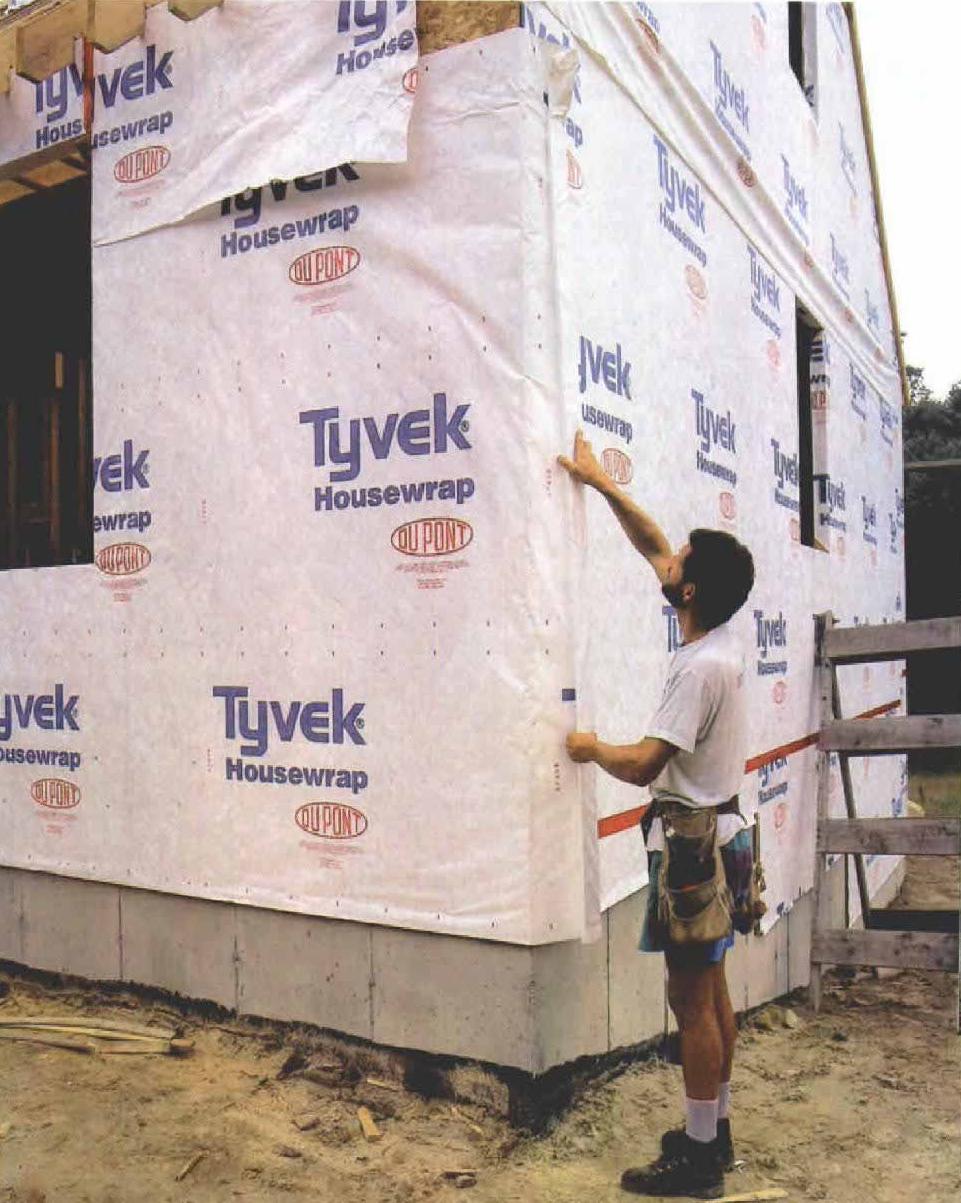 Housewrap Insulation Fhb Portside Builders