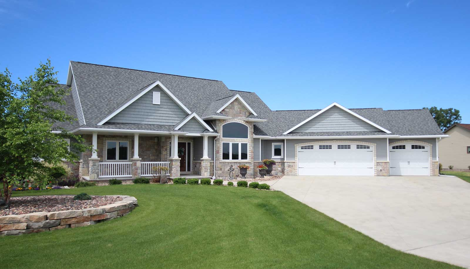 New portside builders home in fond du lac wisconsin for Home builders fond du lac wi