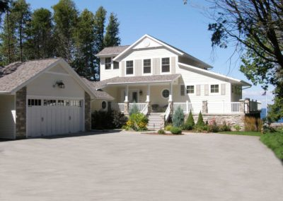New custom-built home in Egg Harbor Wisconsin