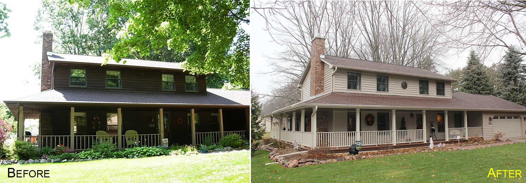 Green Bay Home Builders, Home Builders In The Fox Valley, Oshkosh Home  Builders,. Exterior Home Remodel ...