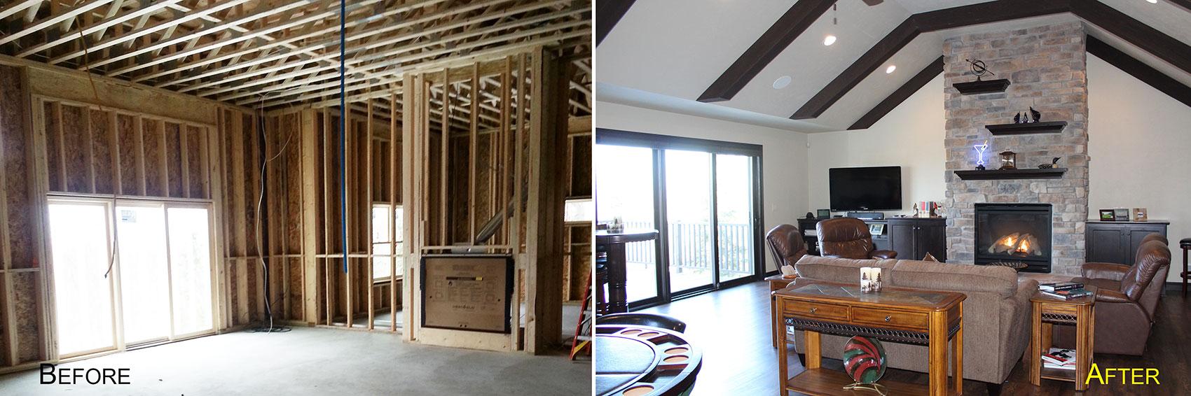 Remodel Lower Level Portside Builders Basements