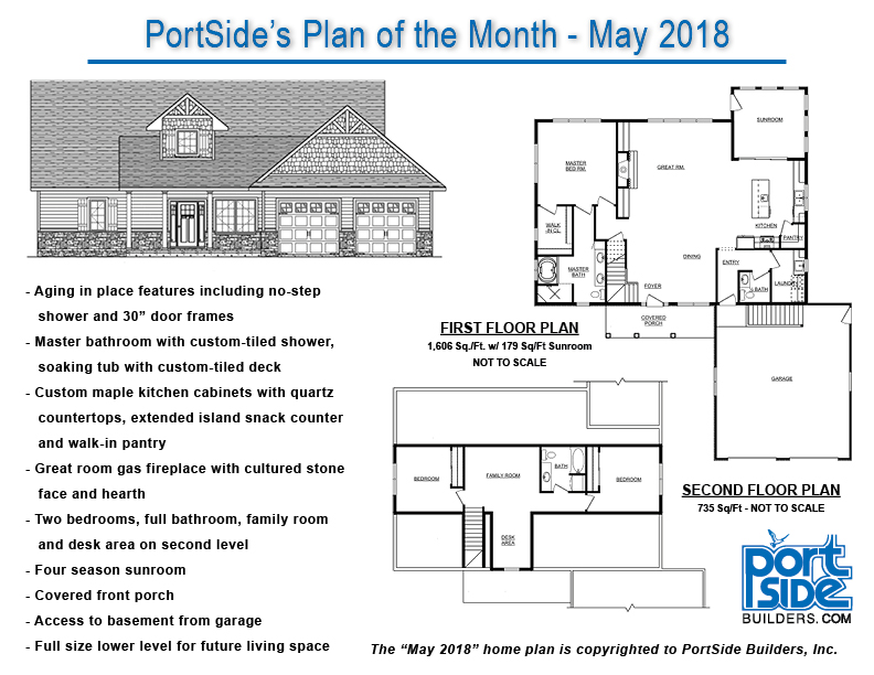 May 2018 Home Plan of the Month • PortSide Builders