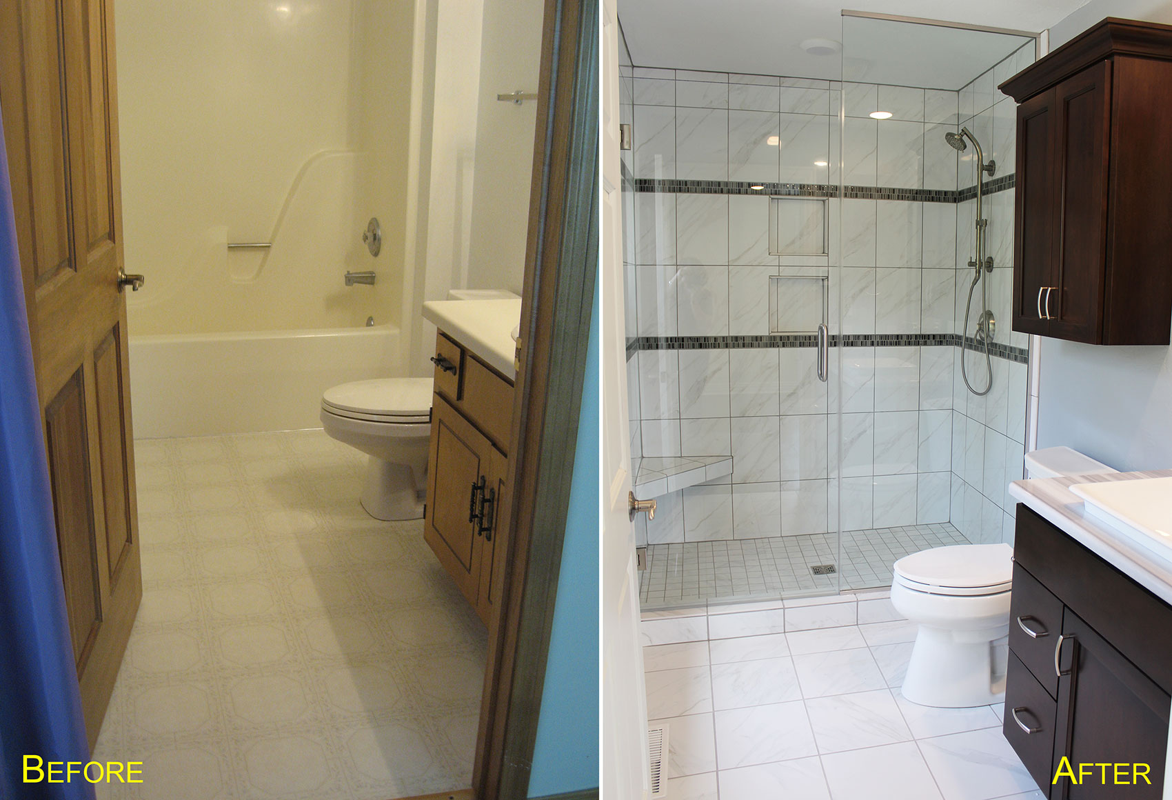 Guest Bathroom, Home Remodel, Home Renovation, Door County, Fox Valley, Home
