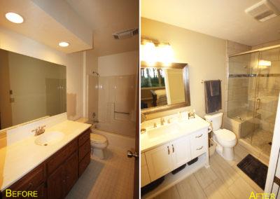 Bathroom remodel, egg harbor wisconsin, home renovation, master bathroom, home construction, door county, fox valley, fox cities, home builders, custom home builders