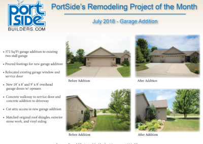 remodeling, door county, home renovations, home improvements, home updates, garage addition, sturgeon bay