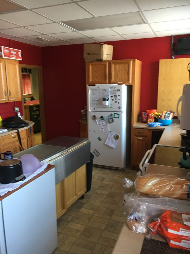 kitchen remodel, commercial kitchen, community kitchen, youth go, portside builders, activity center