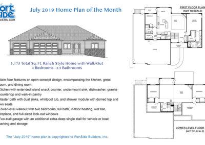Portside Builders custom built home plan