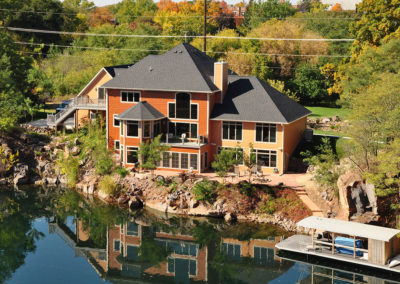 New custom-built waterfront luxury home in Berlin, WI