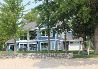 New custom-built waterfront home in Sturgeon Bay, WI.