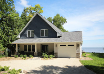 New waterfront home in Sturgeon Bay, Wisconsin.