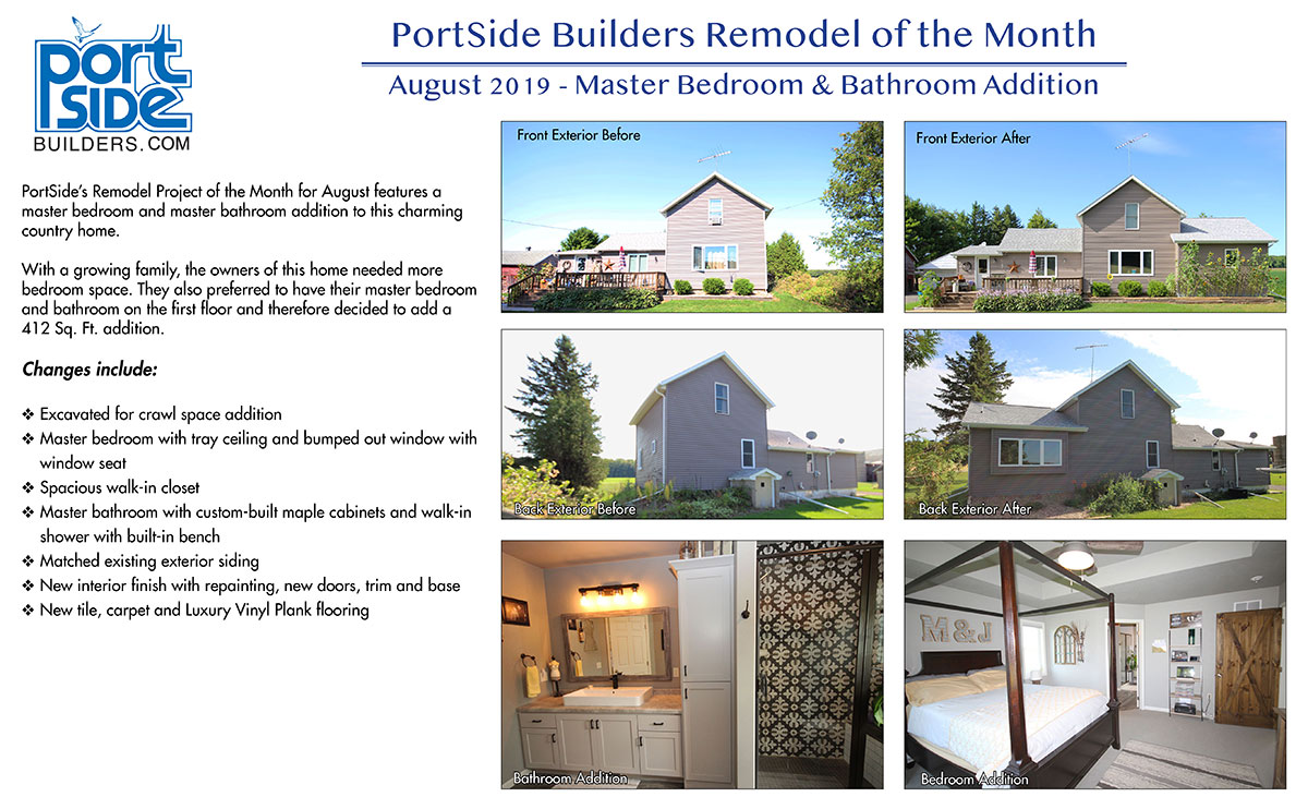 Portside Builders August Remodel of the Month