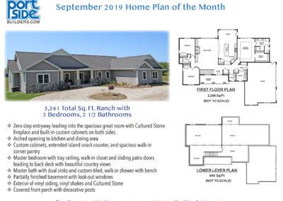 Custom Home Plan from PortSide Builders