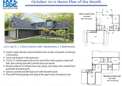 October 2019 Home Plan of the Month