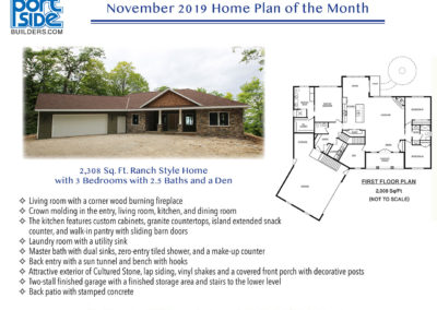 November 2019 Home Plan of the Month