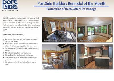 Home Restoration After Fire Damage