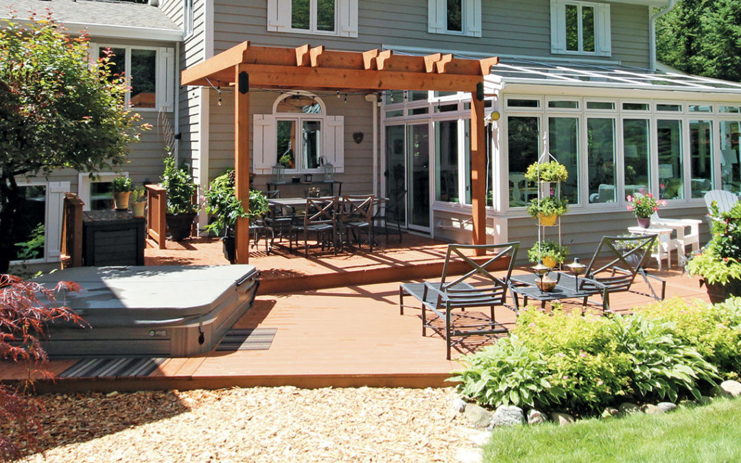 Pergolas Add Character to Any Outdoor Space