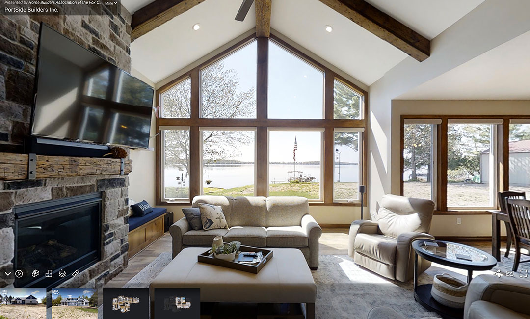 PortSide Showcases Home in Fox Cities Virtual Tour of Homes 2021