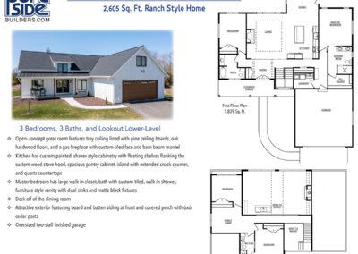 Custom Built Ranch Style Home in Door County